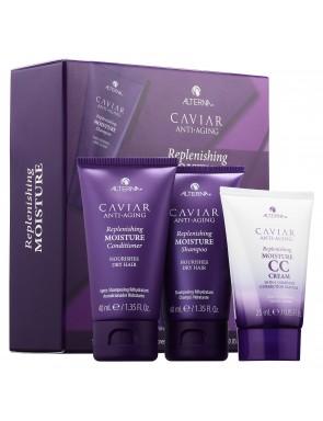 Nemlendirici Seyahat Boy Saç Bakım Seti- Alterna Caviar Anti Aging-Replenishing Moisture-TrialKit
