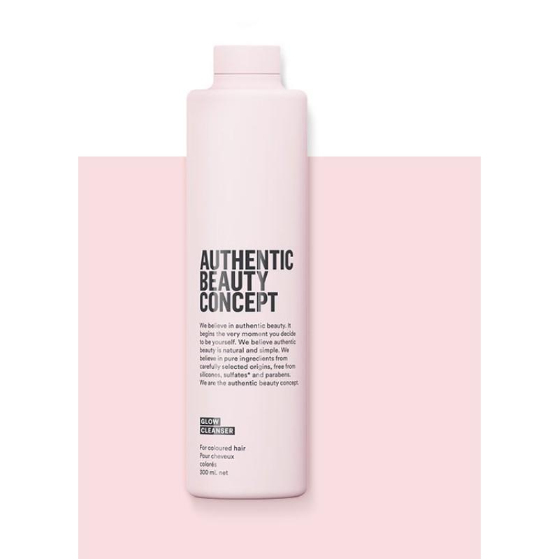 GLOW Cleanser - Renklendirilmiş Saçlar Şampuan - Authentic Beauty Concept 300ml.