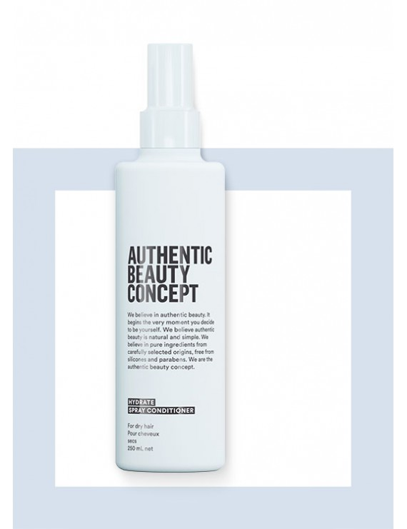 HYDRATE Spray Conditioner - Kuru Saçlar Sprey Krem - Authentic Beauty Concept 250 ml.