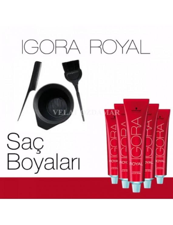 Igora Royal Saç Boyası Set