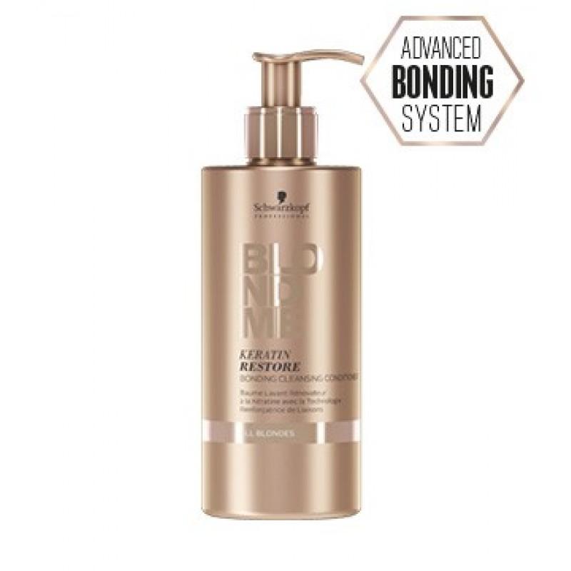 BLONDME Keratin Yükleme Bağ Yapıcı Saç Temizleme Kremi